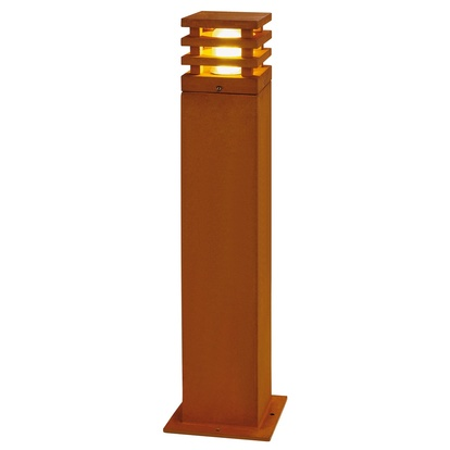 SLV Rusty LED square Pollare