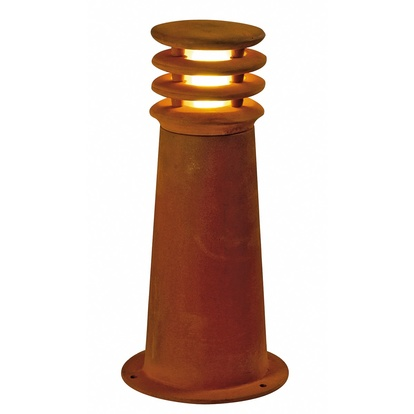 SLV Rusty LED round Pollare