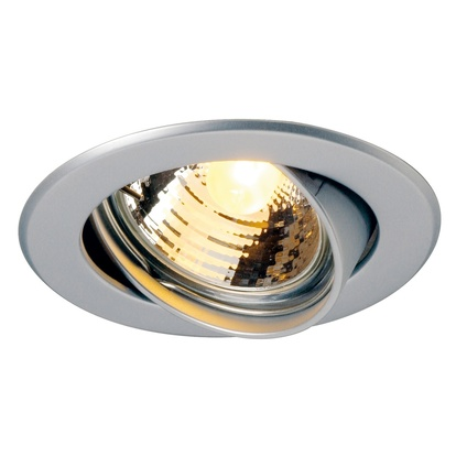 SLV GU10 SP Round downlight Matt krom