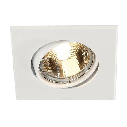 SLV GU10 SP Square downlight Vit