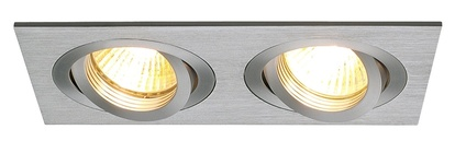 SLV New Tria 2 GU10 högvolt downlight