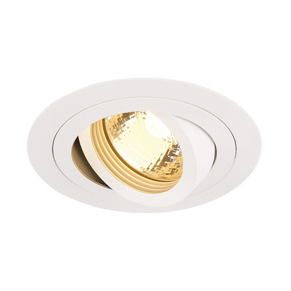 SLV New Tria GU10 högvolt rund downlight
