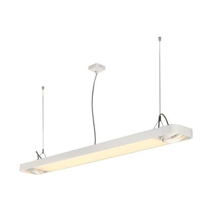 SLV Aixlight R2 Office LED 33,5W pendel Vit