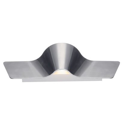 SLV Wave Wall 45 Up/down LED Vägglampa Borstad aluminium 1400 lm