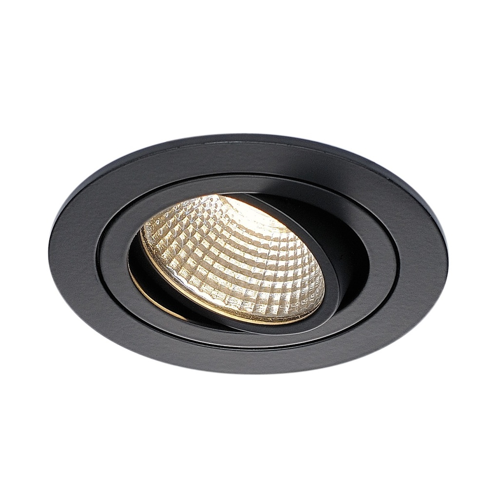 SLV New Tria DL Round Downlight 3000K Svart