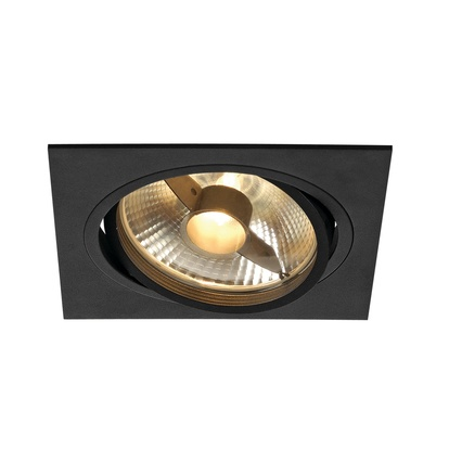 SLV New Tria ES111 högvolt square downlight