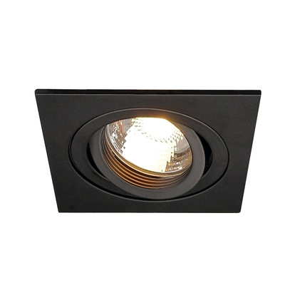 SLV New Tria GU10 högvolt fyrkantig downlight