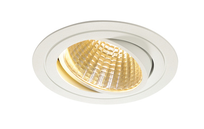 SLV New Tria LED Downlight Kit Round