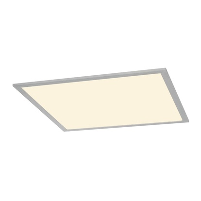 SLV I-Vidual LED Panel Downlight 620 Silvergrå Inbyggnadsarmatur 3000K