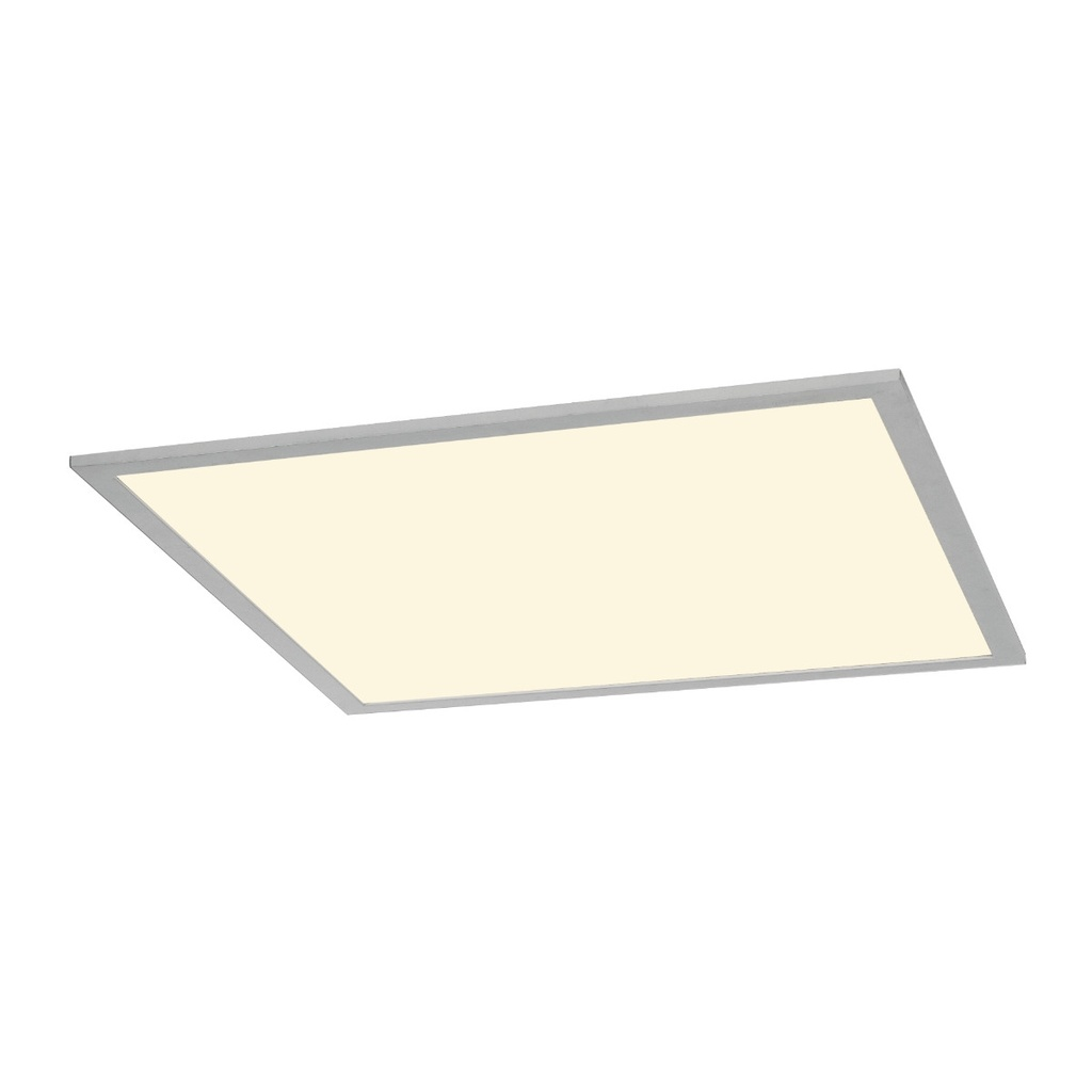SLV I-Vidual LED Panel Downlight 620 Silvergrå Inbyggnadsarmatur 4000K