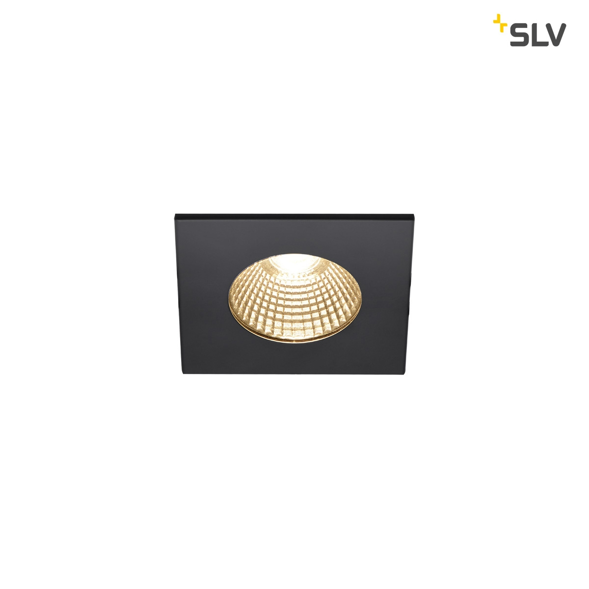 SLV Patta-I Square Downlight Dim to Warm