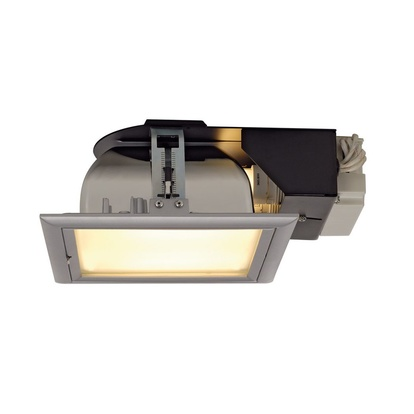 SLV Quor 52 downlight Grå