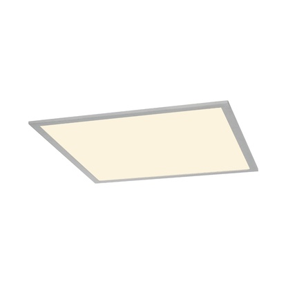 SLV I-Vidual LED Panel Downlight 600 Silvergrå Inbyggnadsarmatur 3000K