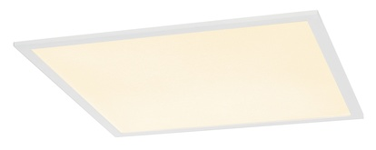 SLV I-Vidual LED Panel Premium Downlight 600 Inbyggnadsarmatur vit 3000K