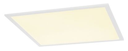 SLV I-Vidual LED Panel Premium Downlight 600 Inbyggnadsarmatur vit 4000K