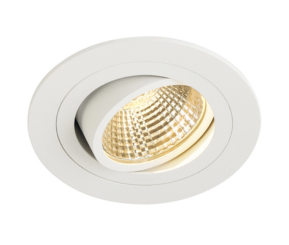 SLV New Tria LED 6W Downlight Round Set Vit